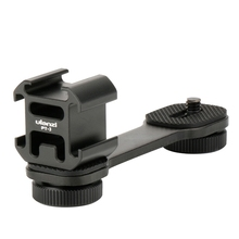 Ulanzi Pt-3 Extention Bar W 3 Cold Shoe Mounts For Zhiyun Smooth 4/ Osmo/Vimble 2 Gimbal Led Light By-Mm1 Microphone handheld gimbal adapter switch mount plate for gopro 6 5 4 3 3 yi 4k camera for dji osmo for feiyu zhiyun smooth q gimbal
