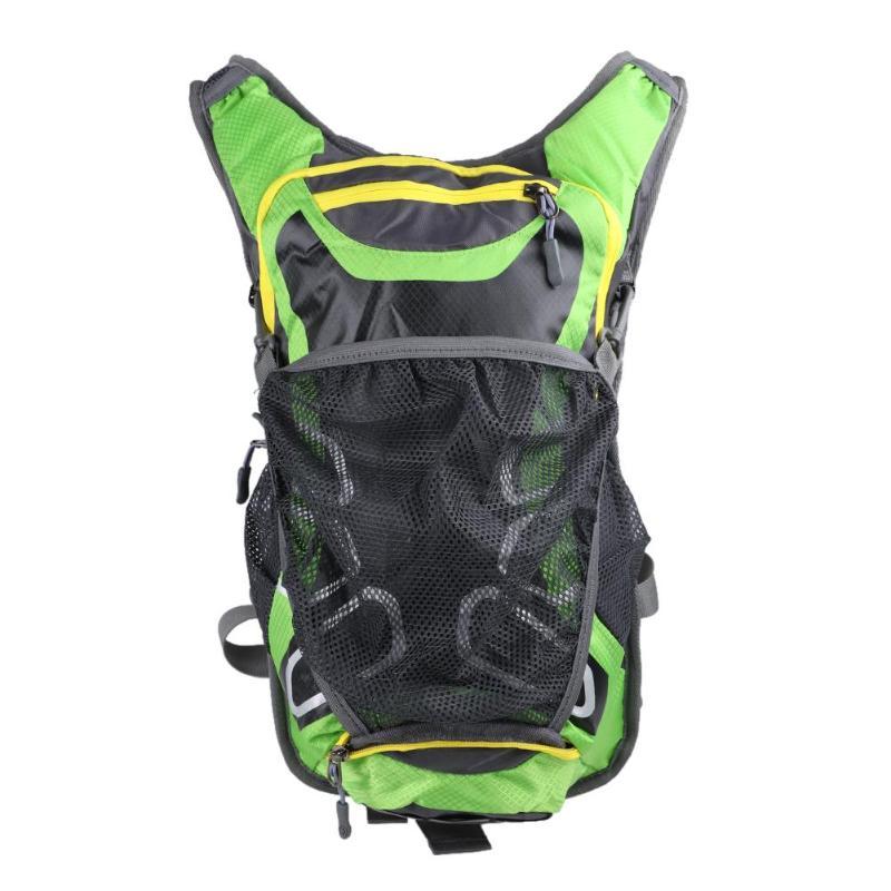 Trekking All'aria Impermeabile Dello Viaggio Sacchetto Zaino Campeggio Di Riflettente Arrampicata Sport Net Nylon Aperta Del ACH6qZw6