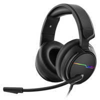 Xiberia V20U Pc Gamer Headset Usb 7.1 Surround Sound Gaming Headphones With Microphone