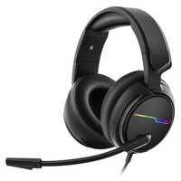 Xiberia v20u pc gamer fone de ouvido usb 7.1 surround som jogos fones com microfone