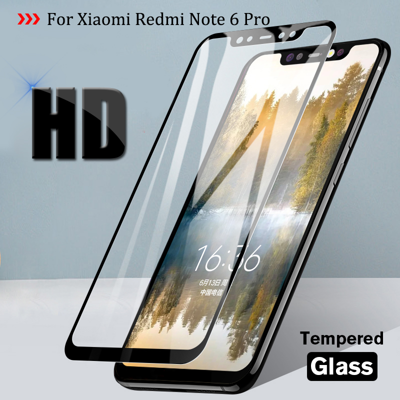Tempered Glass For Xiaomi Redmi Note 6 Pro Screen Protector  Protective Glas Cover Xiami Redmi 6A 5 Plus Note 5A S2 Note3 Sklo