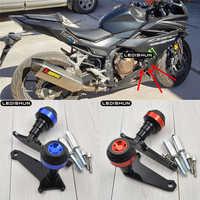 รถจักรยานยนต์ Crash Pads กรณีเครื่องยนต์ Sliders Protector สำหรับ Honda CBR500R CB500X CB500F CB 500 CBR 500 13 141516171819 2018 19