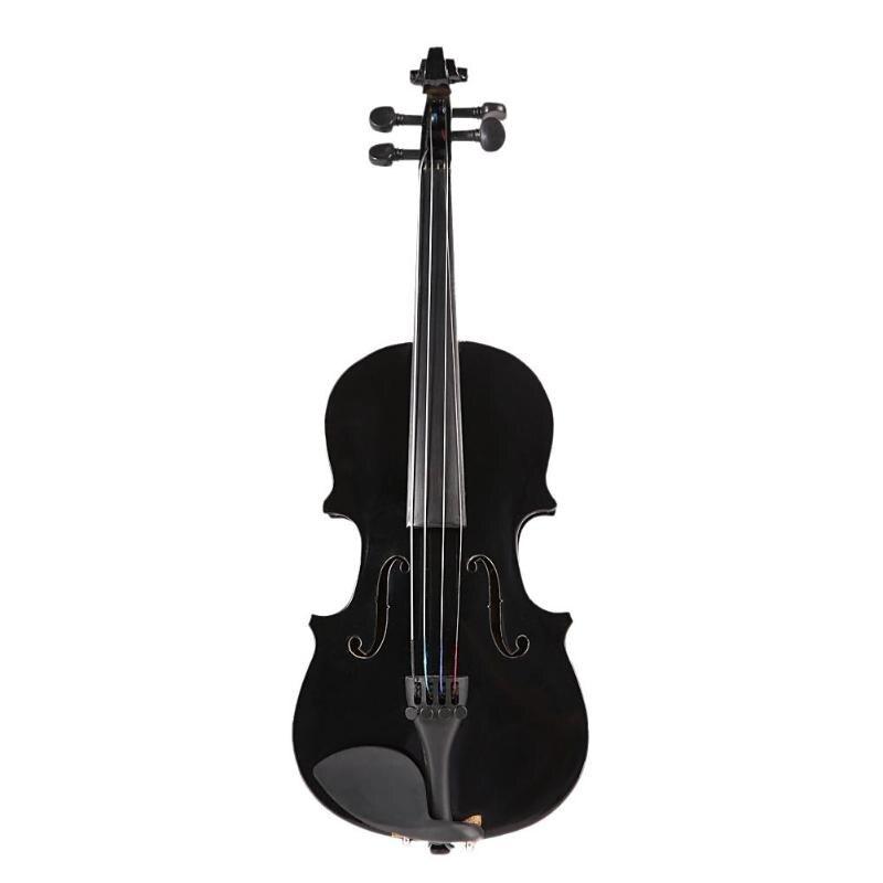 1/8 enfants enfants violon acoustique naturel violon avec étui arc colophane Instrument de musique cadeaux