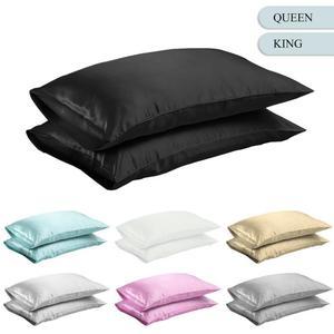 Queen/KING Silk Satin Pillow C