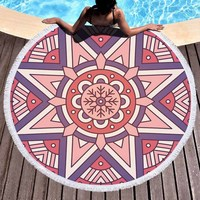 3319e95d71 ... hippie di boho parete arazzo appeso spiaggia tiro asciugamano yoga  stuoia coperta con nappe. US $14.04 US $12.36. 3D Classical Mandala Round  Beach Towel ...