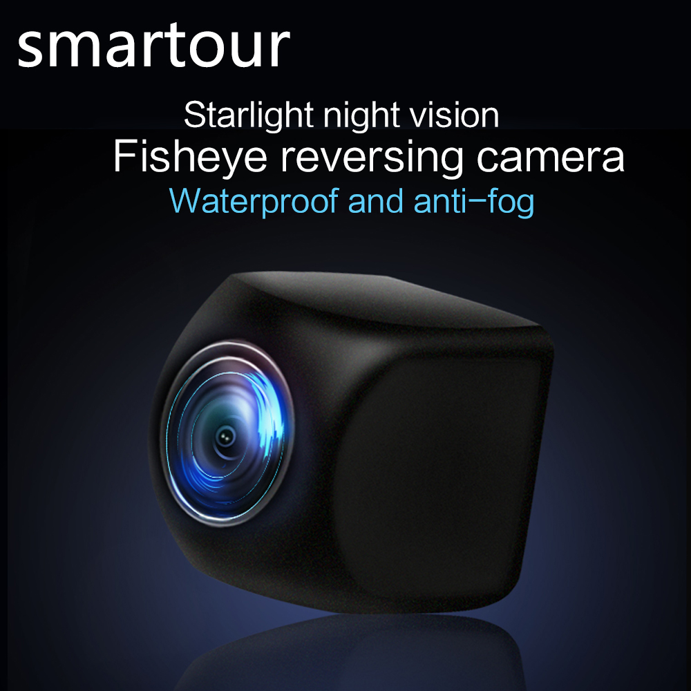 Smartour car Rear View Camera HD 170 Degree Sony/MCCD Fisheye Lens Starlight Night Vision  Reverse Backup  Parking Camera