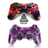 K ISHAKO Favourite For Compatible Ps3 Gamepad Bluetooth Joystick Vibrator SIXAXIS controller Wireless For Ps3 games