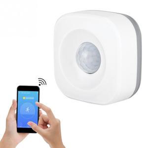 Image 5 - Capteur de mouvement PIR, wi fi, pour maison connectée, détecteur de sécurité sans fil infrarouge, capteur dalarme anti cambriolage