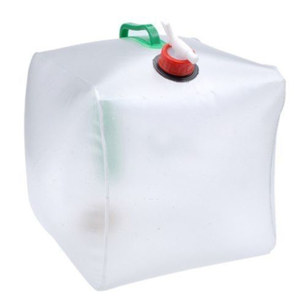 Promotion! white Foldable Water Tank Water Can Flat Canister Liter 10L non toxic green PVC|Buckets| |  - title=