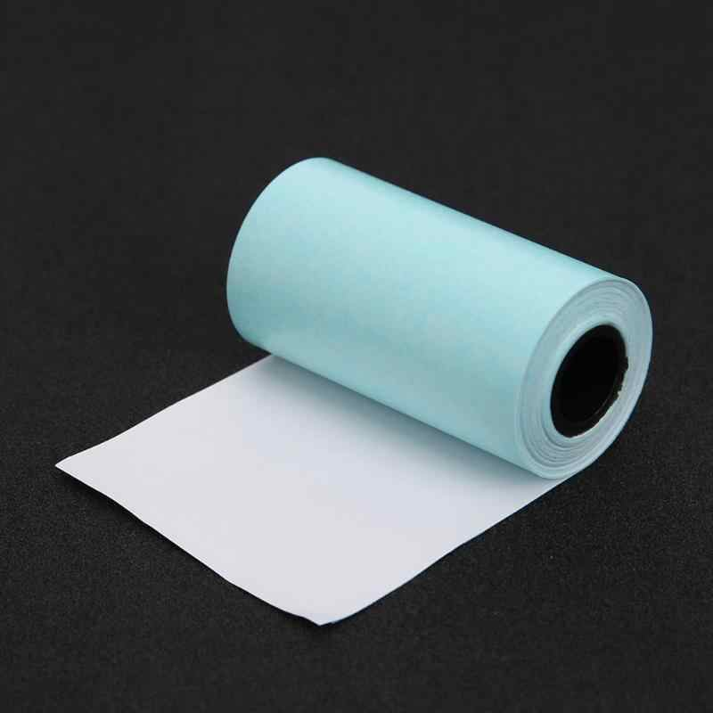 3 rollos de papel adhesivo de impresión térmica papel fotográfico autoadhesivo para Mini impresora fotográfica de bolsillo papel de artesanía 57x 30mm
