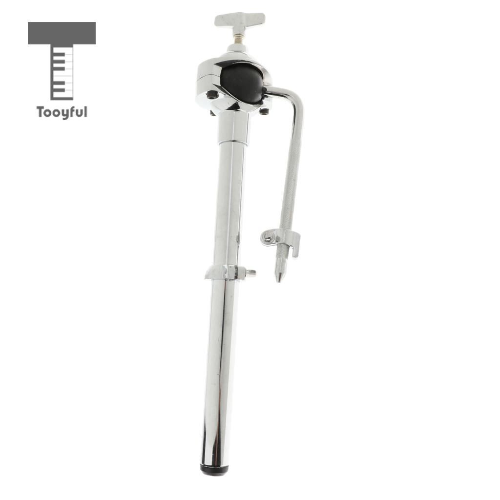 Tooyful Durable Zinc Alloy Drum Kit Tom-Tom Holder Cowbell Mount Stand Support Hardware Percussion Accessory