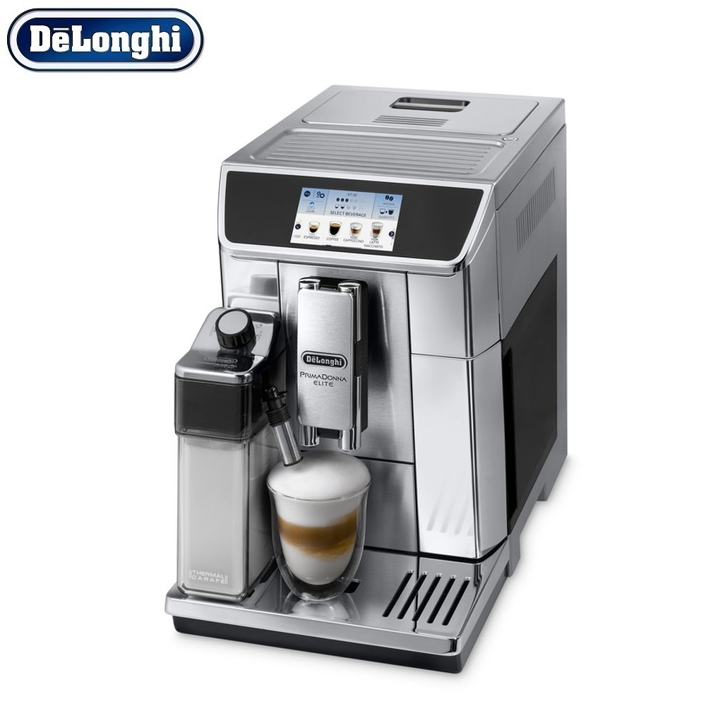 Coffee Machine DeLonghi ECAM 650.75 MS kitchen automatic Coffee machines automatic Coffee Maker cappuccino Kapuchinator automat hot sale coffee printer full automatic latte coffee printer with 8 inch tablet pc coffee and food printer inkjet printer selfie