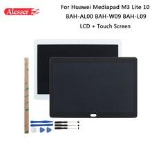 Alesser Huawei 社 Mediapad M3 Lite 10 BAH AL00 BAH W09 BAH L09 Lcd ディスプレイ + タッチスクリーン + ツール + テープ huawei 社 Mediapad M3 Lite