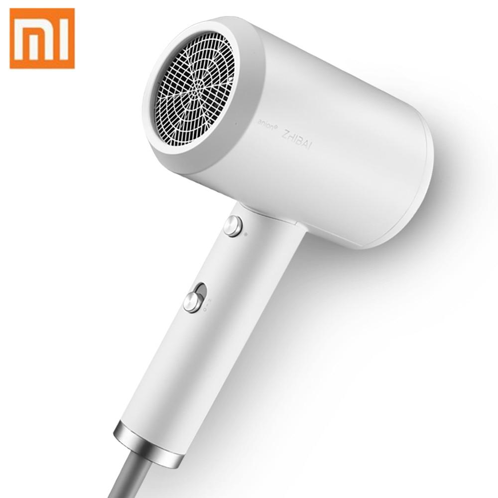 Original Xiaomi Mijia Zhibai Hair Mi Dryer Mini Portable Anion HL3 1800W 2 Speed Temperature Mi Blow Dryer For Travel Home Kits цены онлайн
