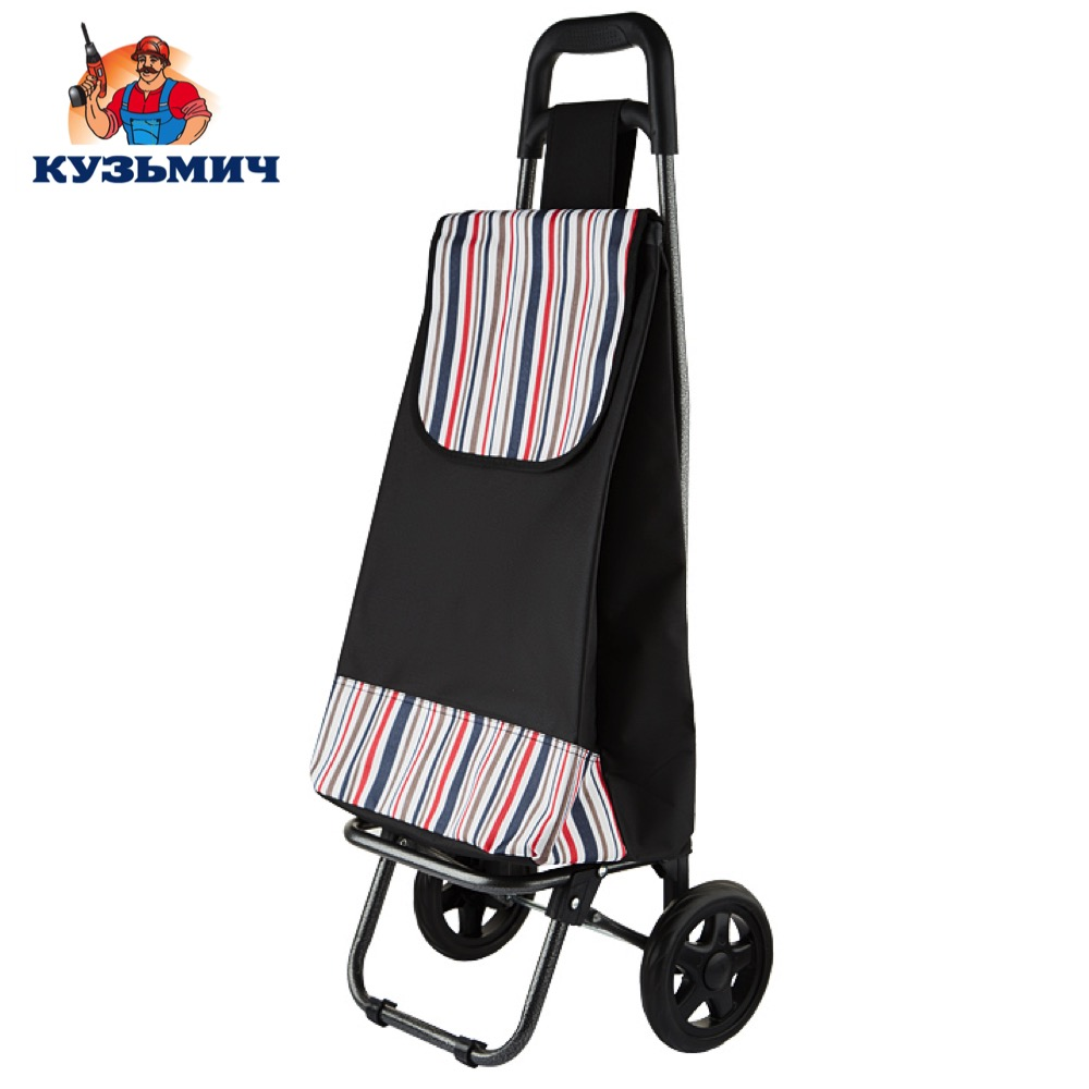 Travel Bags Kuzmich 0R-00001385 Trolley luggage TBR-21 for men and women сonvenient easy moving cargo bag pushcart handcart women travel shopping striped canvas bag summer beach shoulder bags large capacity messenger tote wml99