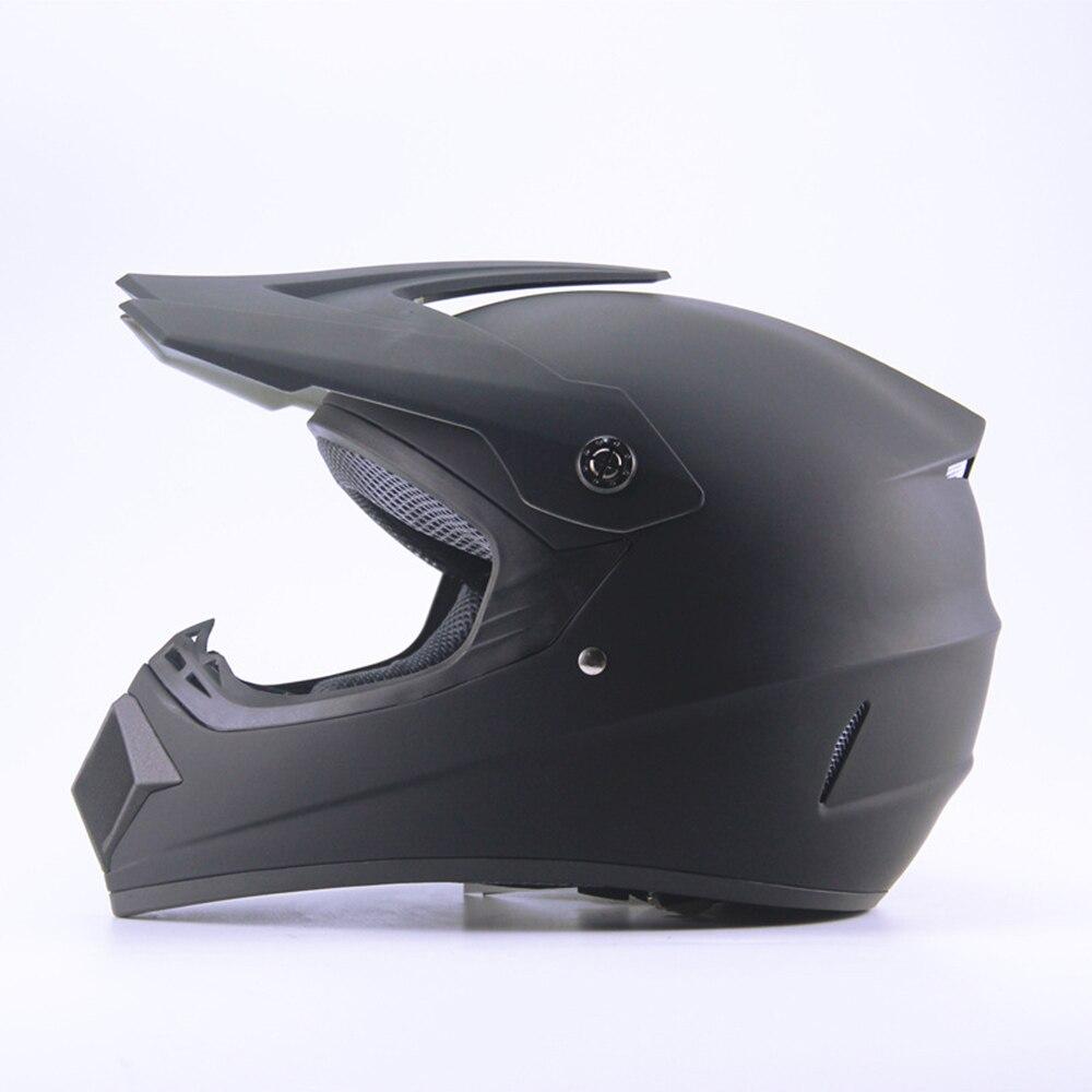 Casque Moto tout terrain Moto intégral casque Cross vtt DH casque de course Capacetes DOT homologué