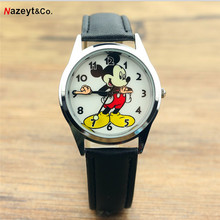 Relogio Feminino Children Watches Fashion Casual Cartoon Girl Boy Stude