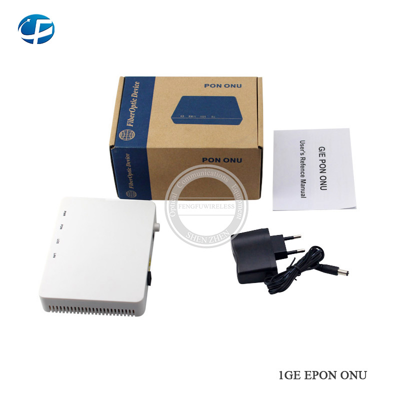 5pcs New Original Onu Ont Termianl Epon Hg8347r Hs8145c Port 1ge+3fe+tel+wifi English Version Compatible With Hua Wei Olt Fiber Optic Equipments Communication Equipments