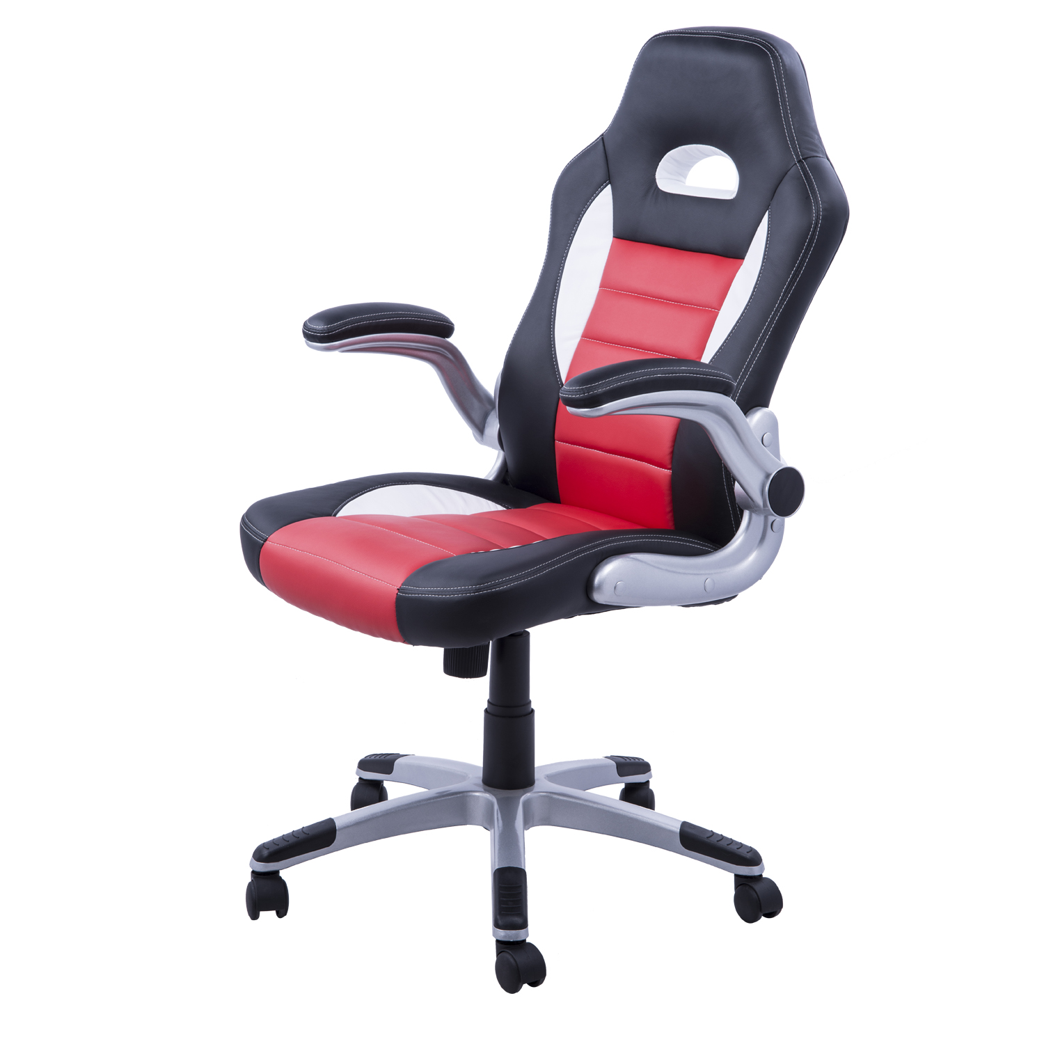 Sillones Para Escritorio Pc.Us 211 81 Homcom Racing Silla Oficina Ejecutiva Deportiva Silla Gaming Para Pc Sillon Estudio Direccion Giratoria In Office Chairs From Furniture On