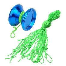 цена на 10 Pcs/lot 100% Polyester Light Professional YoYo Ball Bearing String Trick Yo-Yo Kids Magic Juggling Toy Free Shipping