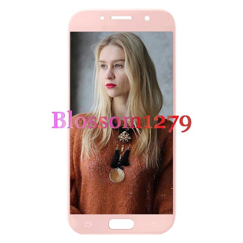 10 pièces (Plein Testé) TFT Pour Samsung Galaxy A7 2017 A720 A720F écran lcd ensemble numériseur à écran tactile de Remplacement