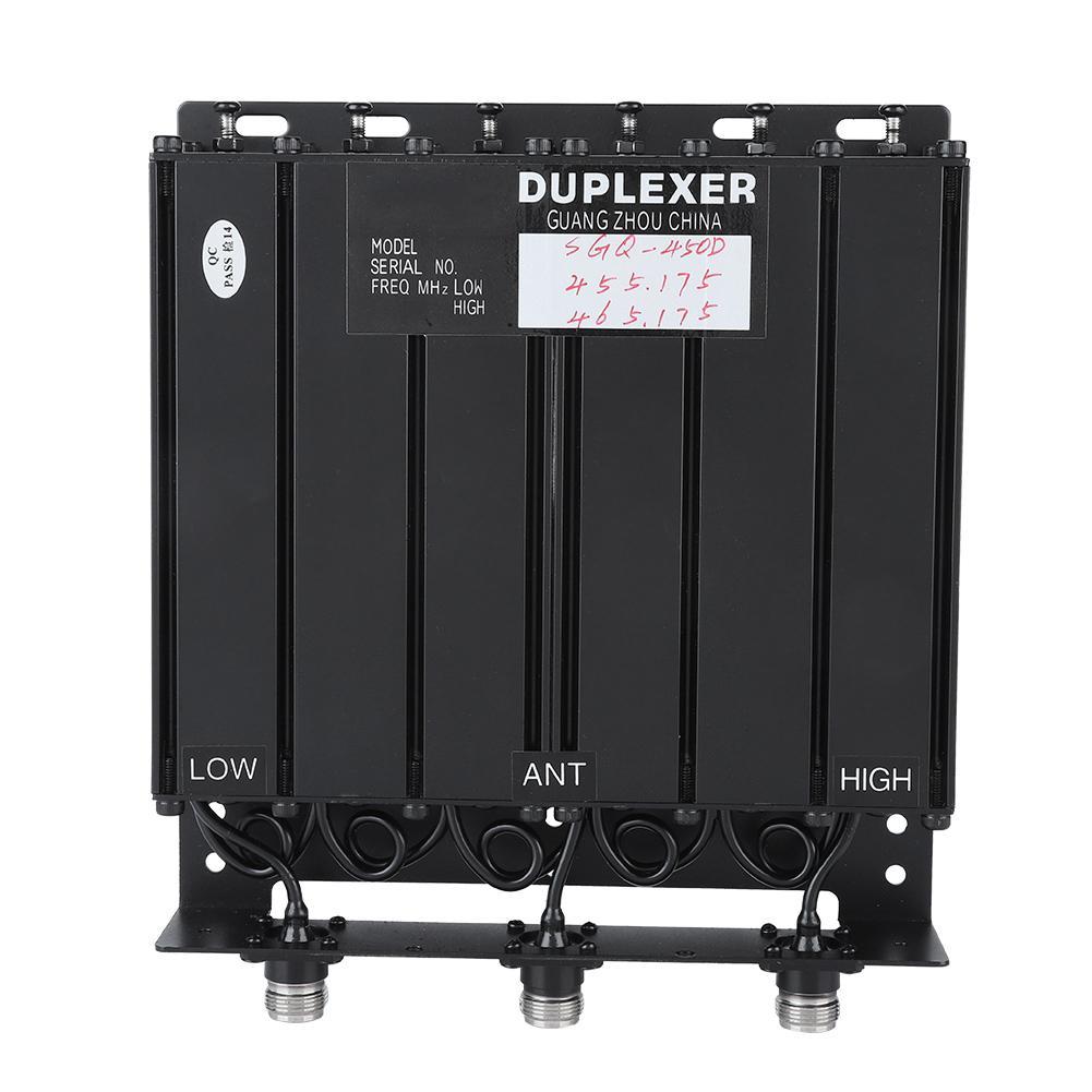 High Quality 50W 6 Cavity Duplexer UHF Duplexer TX:455.175 RX:465.175 N Connector
