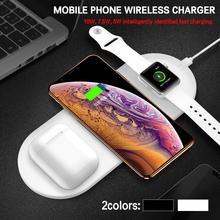 For Funxim X9 Three - In One Desktop Dual Fast Charge 10W 7.5W Samsung Apple Wireless Charger Mobile Phone