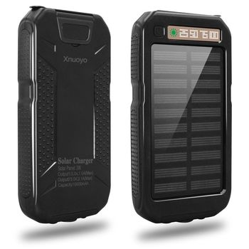 10000 mAh Sport Solar Charger Power Bank 4