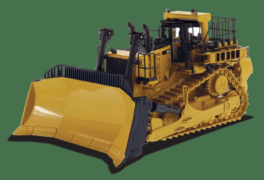 Modèle moulé sous pression de tracteur de Type chenille Cat D11T à l'échelle 1/50, modèle JEL moulé sous pression #85565