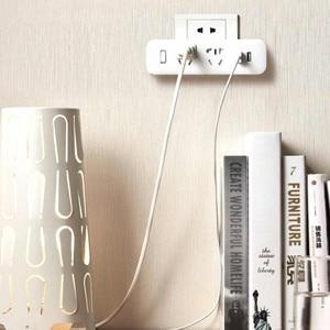 Image 5 - Original Xiaomi Mijia Power Strip Converter Portable Plug 2 USB Travel Adapter Electric Wall AC 5V 2.1A 2 Sockets Fast Charging