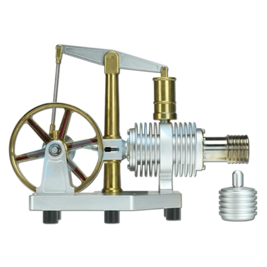 Grande Capacità Caldaia Design All-metallo Balance Tipo Stirling Modello Del Motore Giocattolo