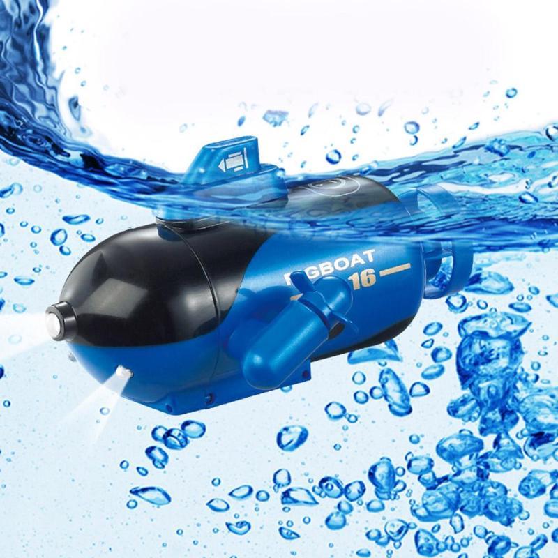 Ferngesteuertes U-boot Fernbedienung Spielzeug 4 Kanal Fernwirk Submarine Mini Fernbedienung Boot Schiff Modell Spielzeug Wasser Schiff Modell Kinder Spielzeug Geschenk Für Kinder