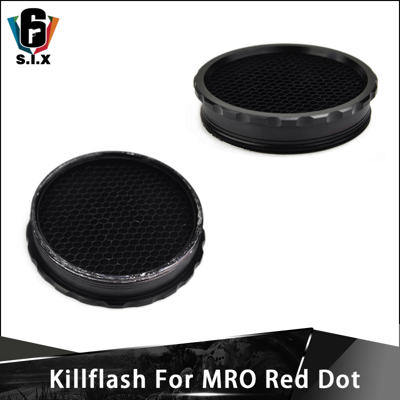 Tactical Scope Protecter Cover Killflash For MRO Red Dot Kill Flash Lens Cover