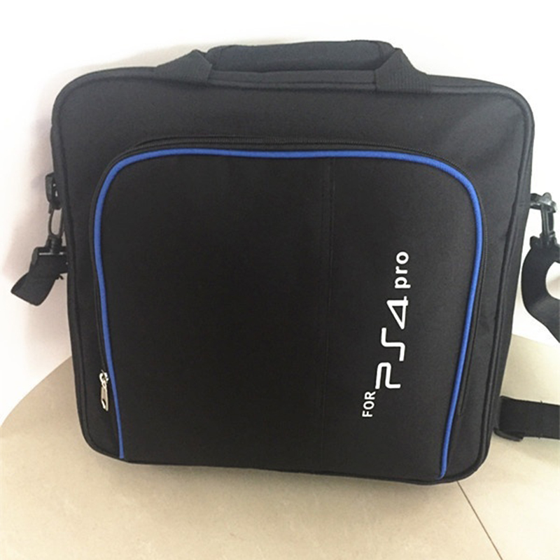 For PlayStation 4 <font><b>PS4</b></font> Game System Bag Protective Carry <font><b>Case</b></font> Shoulder Bag For <font><b>PS4</b></font> Pro <font><b>Console</b></font> image
