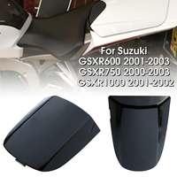 Motocycle Black Rear Solo Seat Cover Cowl For Suzuki GSXR 600 750 1000 2001 2002 2003