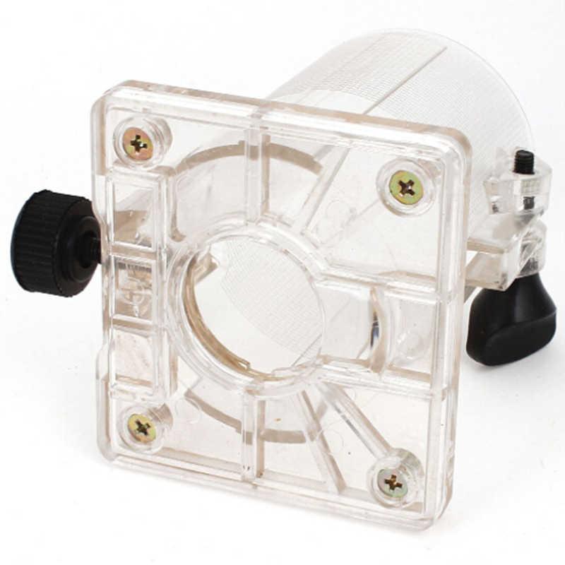 Menuiserie Accessoires Tondeuse Base En Plastique Dur Bouclier Avec 2 Boutons Pour Makita 3701 3703 Électrique machine de découpage de Scie