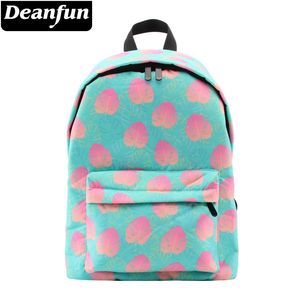 Deanfun Backpack For Girls Turtle Leaf Water Resistant School Backpack Women Shoulder Bag School Bag For Teens
