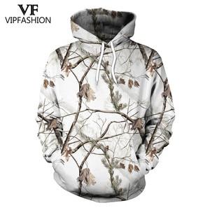 Image 1 - Vip moda camuflagem moletom com capuz masculino 3d impresso caça ameixa flor árvore hoodies unisex hiphop streetwear sweetshirts