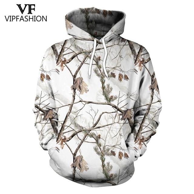 Vip moda camuflagem moletom com capuz masculino 3d impresso caça ameixa flor árvore hoodies unisex hiphop streetwear sweetshirts