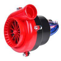 Otomobiller ve Motosikletler'ten Turboşarj'de Araba Sahte Dökümü Elektronik Turbo Kapalı Darbe Hooter Vana Analog Ses ABS Plastik 4 Teller Bağlantı Sistemi