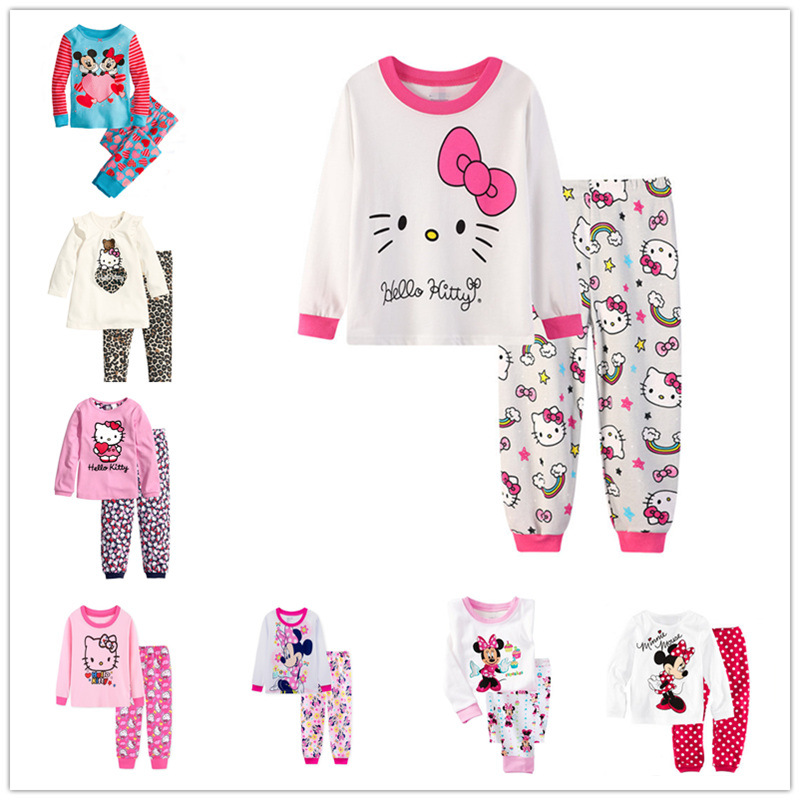 Christmas Childrens Pajamas Set Girls Cotton New Years Sleepwear Long-sleeved Good Quality Kids Pajamas Suit Print Cute PjsChristmas Childrens Pajamas Set Girls Cotton New Years Sleepwear Long-sleeved Good Quality Kids Pajamas Suit Print Cute Pjs