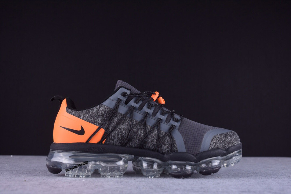 88fb0c8e918ef Nike Air VaporMax Run Utility Cross laces Mens Running Shoes,NIKE Top Male  Elastic Band Breathable Sport Knitted Track Sneakers