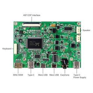 Image 3 - HDMI C tipi kontrol panosu için çalışmak 30Pin 1920x1080 EDP LCD N116HSE EA1/EA2/EJ1/EB1 N133HSE EA1 /EA3/EB1/EB3 B140HAN01.0/1/2/3