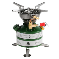 BRS New Mini Fuel Camping Gasoline Stoves Portable Outdoor One piece Stove Burners Cooker Gas Stove for Outdoor Camping Picnic