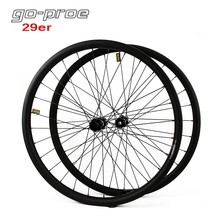 цена на Go-proe Flight Weight 29er MTB Carbon Wheel DT Swiss 350 Hub 30mm Width 25mm Depth Mountain Bike Wheelset Boost Or QR Skewer