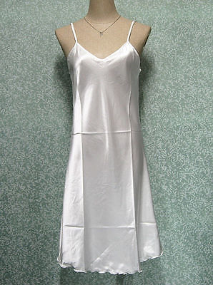 WOMEN/'S PLUS SZ SATIN CHEMISE NIGHTGOWN MultiPrint 1-2X NWT SEE MEASUREMENTS