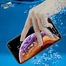 KISSCASE Waterproof Case For iPhone XS MAX XR X 360 Full Protection Underproof 8 7 6 6S Plus 5 5S SE Funda Capa
