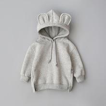 Baby Boys Girls Clothes Cotton Hooded Sweatshirt