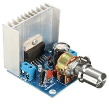 лучшая цена TDA7297 2 Channel Amplifier Boards AC/DC 12V 2x15W Digital Audio Amplifiers Dual Channel Module Board