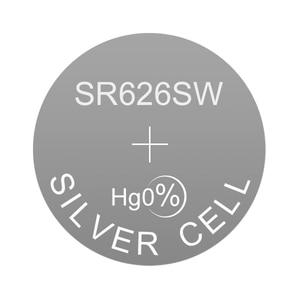 Image 2 - Alkaline Button Silver Cell Watch Battery LR626 1.5V 0Hg LR Coin SR626SW Replaces AG4 177 377A D377 377 377S GP377 D376 376 LR66